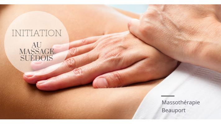 Initiation au massage suédois , Formation privée